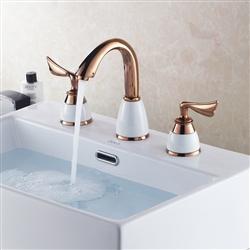 Leonardo Gold Chrome Finish Bathroom Basin Sink Faucet