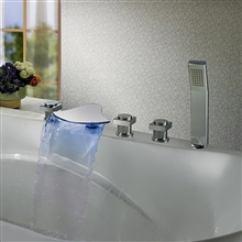 Bathtub Faucet With Hand Shower